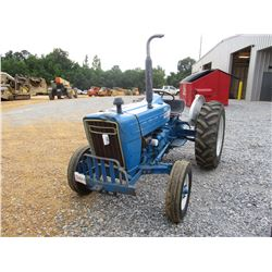 FORD 3000 FARM TRACTOR, - 3 PTH, PTO, 13.6-28 TIRES, METER READING 6,000 HOURS