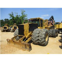 TIGERCAT 640 CLAMBUNK SKIDDER, VIN/SN:6301576 - TANDEM REAR AXLE, CLAMBUNK GRAPPLE, ECAB W/AC, 30.5-