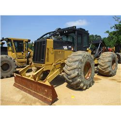 2012 CAT 545C SKIDDER, VIN/SN:54501037 - GRAPPLE, DUAL ARCH, WINCH, ECAB W/AC, 30.5L-32 TIRES, METER
