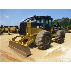 2012 CAT 535C SKIDDER, VIN/SN:53500630 - GRAPPLE, DUAL ARCH, WINCH, ECAB W/AC, 30.5L32 TIRES, METER
