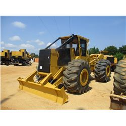 2006 TIGERCAT 610 SKIDDER, VIN/SN:6100143 - GRAPPLE, SINGLE ARCH, ECAB W/AC, 30.5L-32 TIRES, METER R