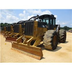 2009 CAT 525C SKIDDER, VIN/SN:52500748 - GRAPPLE, SINGLE ARCH, WINCH, ECAB W/AC, 30.5L32 TIRES, METE