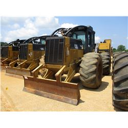 2008 CAT 525C SKIDDER, VIN/SN:500556 - GRAPPLE, SINGLE ARCH, ECAB W/AC, 30.5L-32 TIRES, METER READIN