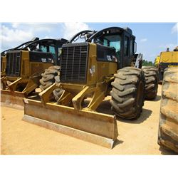 2011 CAT 525C SKIDDER, VIN/SN:52501331 - GRAPPLE, SING STCH, WINCH, ECAB W/AC, 30.5L-32 TIRES, METER