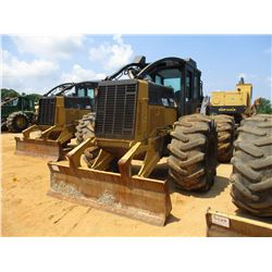 2012 CAT 525C SKIDDER, VIN/SN:501573 - GRAPPLE, SINGLE ARCH, WINCH, ECAB W/AC, 30.5-32 TIRES, METER