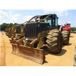2006 CAT 525B SKIDDER, VIN/SN:3KZ02157 - GRAPPLE, SINGLE ARCH, WINCH, ECAB, 30.5L-32 TIRES
