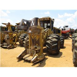 2013 TIGERCAT 724E FELLER BUNCHER, VIN/SN:7242104 - 5502 TIGERCAT SAW HEAD, ECAB W/AC, 67X34-25 TIRE