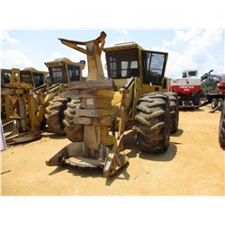 2011 TIGERCAT 724E FELLER BUNCHER, VIN/SN:7242019 - TIGERCAT, 5702 SAW HEAD, ECAB W/AC, 30.5-32 TIRE