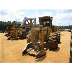 2015 TIGERCAT 720G FELLER BUNCHER, VIN/SN:7205667 - TIGERCAT 5600 SAW HEAD, ECAB W/AC, 30.5L-32 TIRE