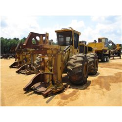 2009 TIGERCAT 720E FELLER BUNCHER, VIN/SN:7204936 - TIGERCAT 5600 SAW HEAD, ECAB W/AC, 30.5L-32 TIRE