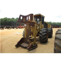 2005 TIGERCAT 724D FELLER BUNCHER, VIN/SN:7240660 - TIGERCAT SAW HEAD, ECAB W/AC, 286-26 TIRES, METE