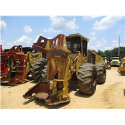 TIGERCAT 720D FELLER BUNCHER, VIN/SN:7203881 - TIGERCAT SAW HEAD, ECAB W/AC, 28L-26 TIRES, METER REA