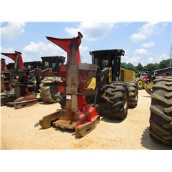 2015 CAT 563C FELLER BUNCHER, VIN/SN:A6300184 - CAT SC-57 SAW HEAD, ECAB W/AC, 28L-26 TIRES, METER R