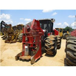 PRENTICE 2470 FELLER BUNCHER, VIN/SN:B19418 - SH-50 SAW HEAD, ECAB W/AC, 28L-26 TIRES