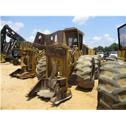 TIGERCAT 720B FELLER BUNCHER, VIN/SN:7202075 - TIGERCAT DW5501 SAW HEAD, ECAB W/AC, 50.5L-32 TIRES,