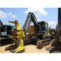 JOHN DEERE 759G FELLER BUNCHER, VIN/SN:001962 - TRACK MOUNTED, JOHN DEERE FS22B ROTATING SAW HEAD, C
