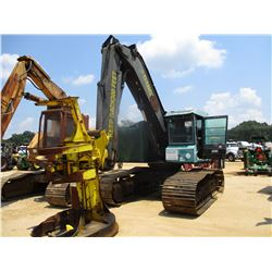 "2000 TIMBERJACK 608 FELLER BUNCHER, VIN/SN:10BA1066 - 22"" ROTATING CENTER POST SAW HEAD, ECAB"