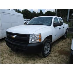 2013 CHEVROLET SILVARADO PICK UP, VIN/SN:3GCPKPEA8DG233421 - V8 GAS ENGINE, A/T, ODOMETER READING 11