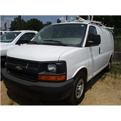 2008 CHEVROLET EXPRESS WORK VAN, VIN/SN:1GCFG15X981219952 - V6GAS ENGINE, A/T, ODOMTER READING 79,72