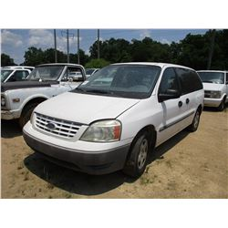 2006 FORD FREE STAR VAN, VIN/SN:2FTZA54626BA44623 - GAS ENGINE, A/T, ODOMETER READING 174,945 MILES