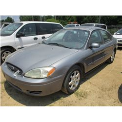 2006 FORD TAURUS VIN/SN:1FAFP56U66A164066 - GAS ENGINE, A/T, ODOMETER READING 253,572