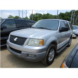 2003 FORD EXPLORER VIN/SN:1FMPU15L13LC26784 - GAS ENGINE, A/T, 3RD ROW SEATING, REAR A/C, ODOMETER R