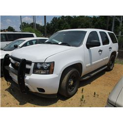 2007 CHEVROLET TAHOE VIN/SN:1GNEC03047R342282 - V8 GAS ENGINE, A/T, ODOMETER READING 200,459 MILES (