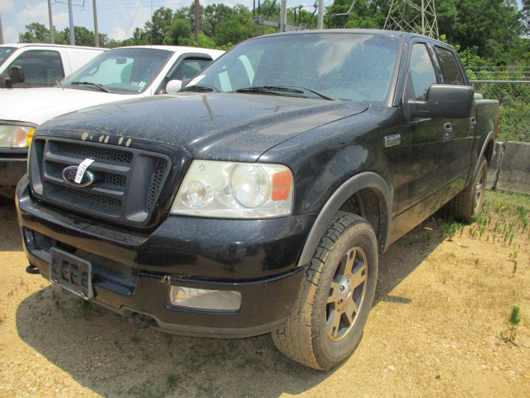Image 1 2004 ford f150 fx4 pick up vin sn1ftpw14594kc30932