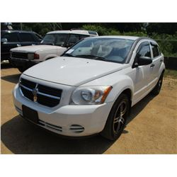 2008 DODGE CALIBER VIN/SN:1B3HB48B08D558740 - GAS ENGINE, A/T, ODOMETER READING 330,951 MILES