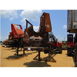 PRENTICE 384 LOG LOADER, VIN/SN:P58983 - ECAB W/AC, CTR DELIMBER, MTD ON PITTS T/A TRAILER, S/N 727,