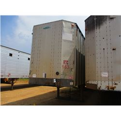 2003 PEARLESS CHIP TRAILER, VIN/SN:1PLE040283PL53158 - T/A, CLOSED TOP, 40' LENGTH, HALF GATE, 11R24