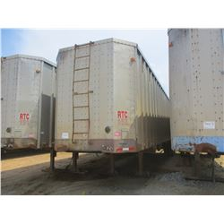 1993 PEARLESS CHIP TRAILER, VIN/SN:1PLE04021PPA12855 - T/A, CLOSED TOP, 40' LENGTH, HALF GATE, 11R24