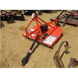 BUSHOG - 5' MOWER, UNUSED
