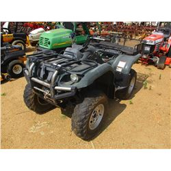 YAMAHA GRIZZLY 4 WHEELER, VIN/SN:JY4AM03Y850060557 - 4X4, WINCH, REAR BASKET (DOES NOT OPERATE)