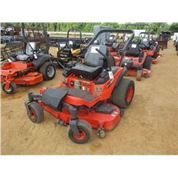 "KUBOTA ZD326 MOWER, VIN/SN:49905 - ZERO TURN, DIESEL ENGINE, 60"" MOWER DECK, ROLL BAR, METER READING"