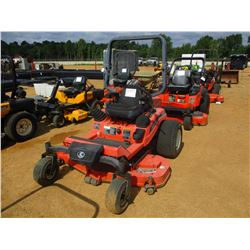 "KUBOTA ZD25 MOWER, VIN/SN:44715 - ZERO TURN, DIESEL ENGINE, 60"" MOWER DECK, ROLL BAR, METER READING"