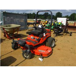 "KUBOTA ZD28 MOWER, VIN/SN:12788 - ZERO TURN, DIESEL ENGINE, 72"" MOWER DECK, ROLL BAR, METER READING"