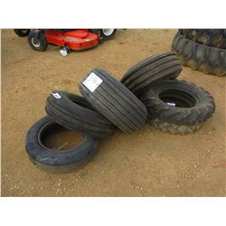 (6) MISC SIZE TIRES