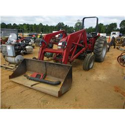 CASE 3230 FARM TRACTOR, VIN/SN:JJE0921668 - 3 PTH HITCH, PTO, 1 REMOTE, FRONT LOADER BUCKET, ROLL BA