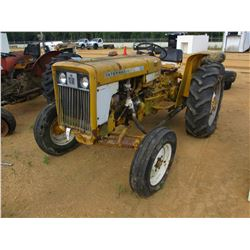 INTERNATIONAL 2444 FARM TRACTOR, - 3 PTH, PTO (DOES NOT RUN)