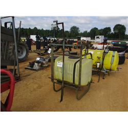 100 GALLON SPRAYER TANK & FRAME