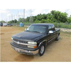 1999 CHEVROLET 1500 PICK UP, VIN/SN:2GCE019T1X1129587 - GAS ENGINE, A/T