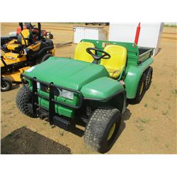 JOHN DEERE GATOR VIN/SN:VG06X4D032262 - 4X6, T/A, DIESEL ENGINE, DUMP BED, METER READING 946 HOURS