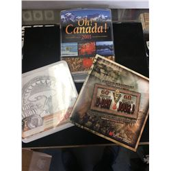 RCM LOT..D-DAY SETS AND CANADA UNCIRCULATED SET.