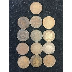 CANADA LARGE CENT LOT!