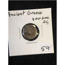 UNIDENTIFIED ANCIENT GREEK COIN!