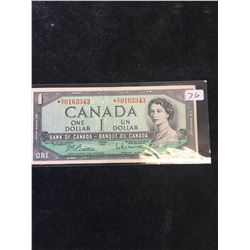 1954 BANK OF CANADA $1 REPLACEMENT NOTE..