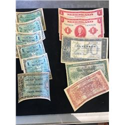 WWII MILITARY CURRENCY LOT!
