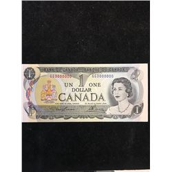 1973 $1 BANK OF CANADA  3 MILLION # NOTE!