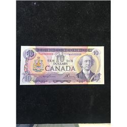 1971 BANK OF CANADA $10 NOTE! 6000000 # NOTE!